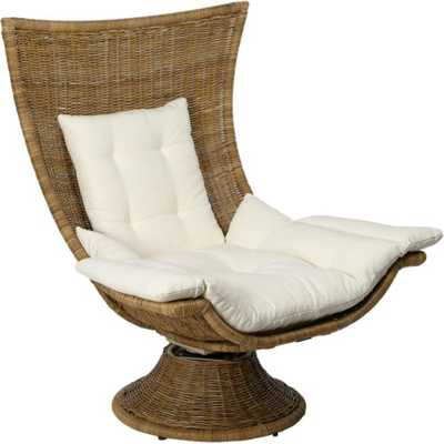 Healdsburg Swivel Chair in Natural - Caravan Living