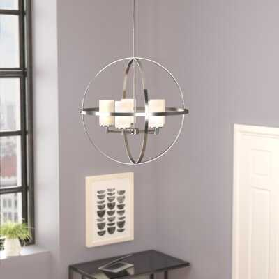 Raine 5 - Light Shaded Globe Chandelier - Wayfair