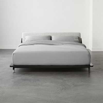 Drommen Black King Bed - CB2