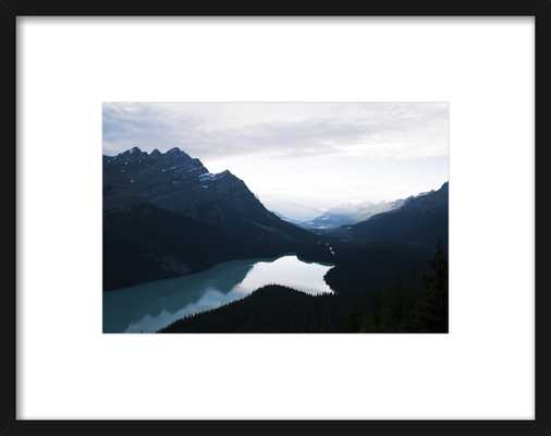 Summer Night on Peyto Lake  by Tracy Zhang for Artfully Walls - Artfully Walls