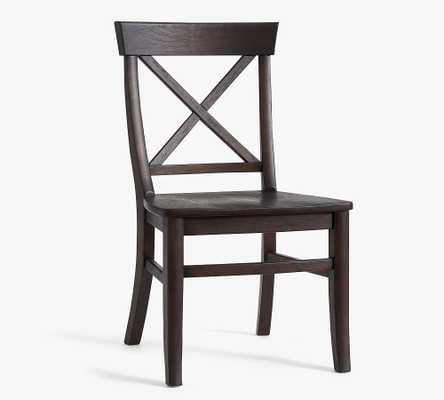 Aaron Dining Side Chair, Coffee Bean - Pottery Barn