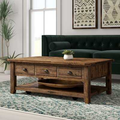 Jalynn Coffee Table with Storage - Wayfair