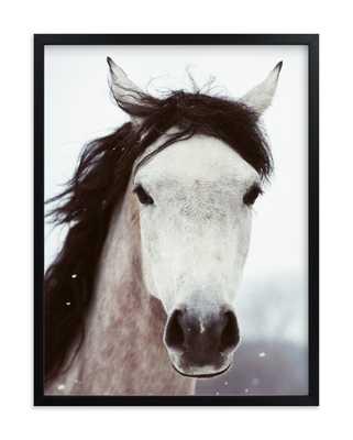 Winter Horse Art Print - Minted
