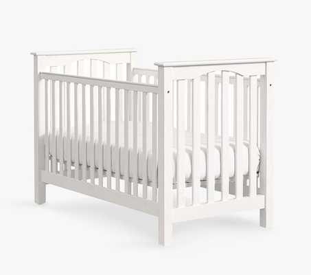 Kendall Low-Profile Convertible Crib, Simply White, In-Home Delivery - Pottery Barn Kids