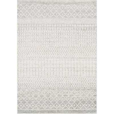Artistic Weavers Laurine Gray 6 ft. 7 in. x 9 ft. Area Rug, Grey - Home Depot
