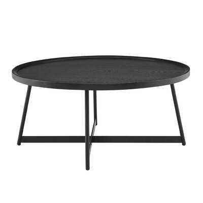 Tyner Cross Legs Coffee Table - Wayfair