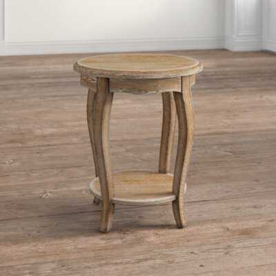 Francoise End Table With Storage - Wayfair