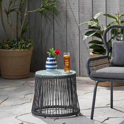 Mcclurg Glass Side Table - Wayfair