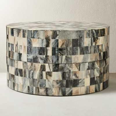 Resin Round Box Large - CB2