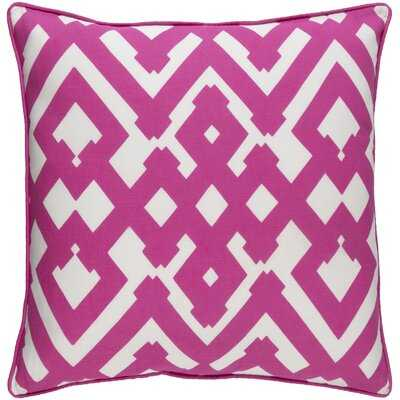 Liggett Large Zig Zag Square Throw Pillow - Wayfair