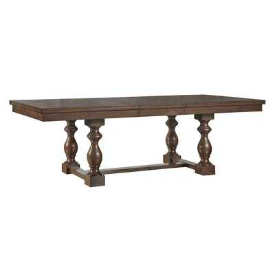 Dublin Extendable Solid Wood Dining Table - Birch Lane