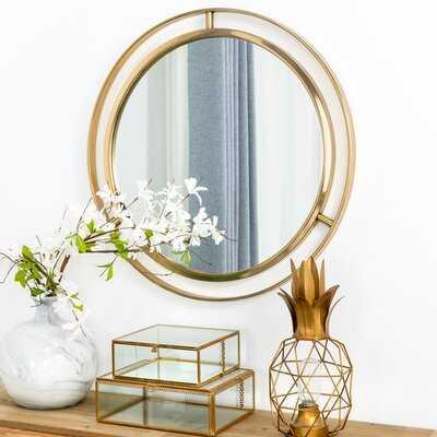 Terwilliger Round Wall Mirror - Wayfair