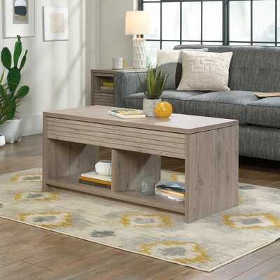 Sylva Lift Top Block Coffee Table with Storage - Wayfair