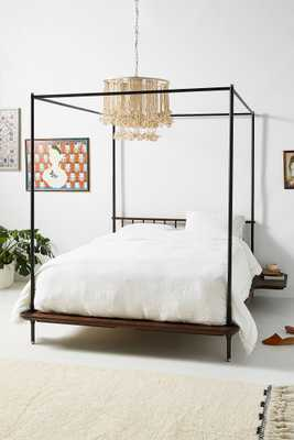 Kalmar Canopy Bed, king - Anthropologie