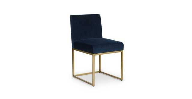 Oscuro Tidal Blue Dining Chair (sold as pair) - Article