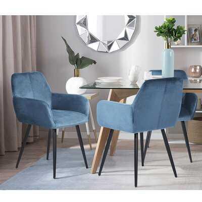 Sanchez Upholstered Arm Chair, Set of 2 - Wayfair