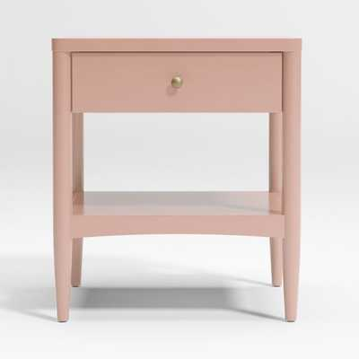 Hampshire Blush Nighstand - Crate and Barrel