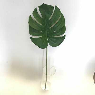 Monstera Leaf in Decorative Vase - Wayfair