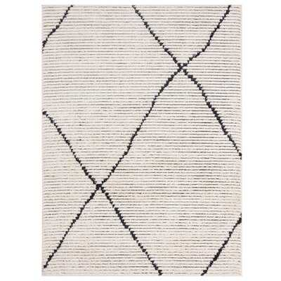"Amador Geometric Cream Area Rug_ 9'2"" x 12' - Wayfair"
