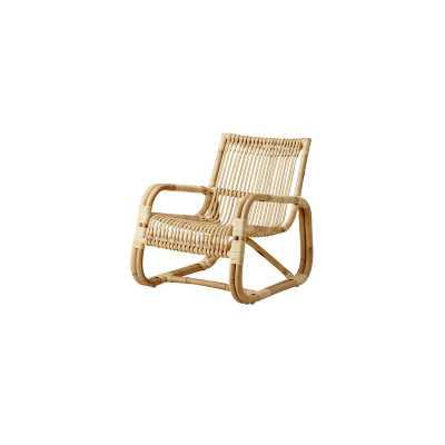 Cane Line Curve Armchair Color: Natural/Rattan - Perigold