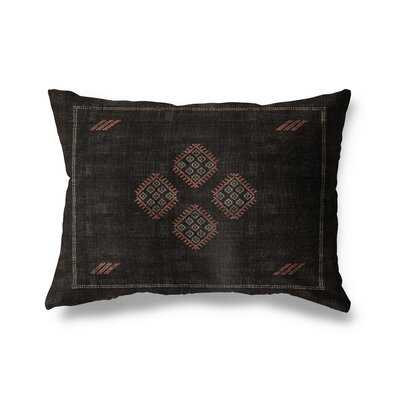 Aviva Cotton Indoor / Outdoor Geometric Lumbar Pillow - Wayfair