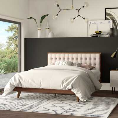 Elizabeth Street Upholstered Platform Bed - Wayfair