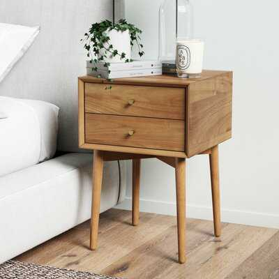 Gilligan 2 - Drawer Nightstand - Wayfair