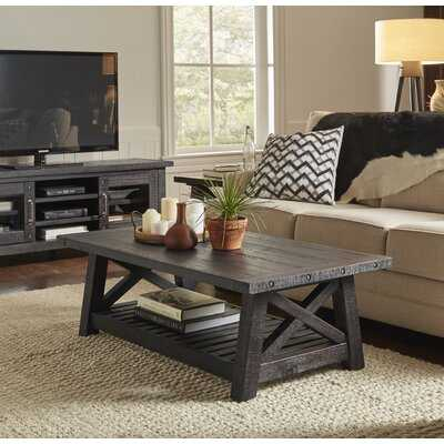 Langsa Solid Wood Coffee Table - Wayfair