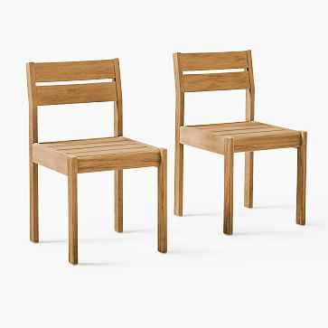 Playa Outdoor Dining Chair, Set of 2 - West Elm