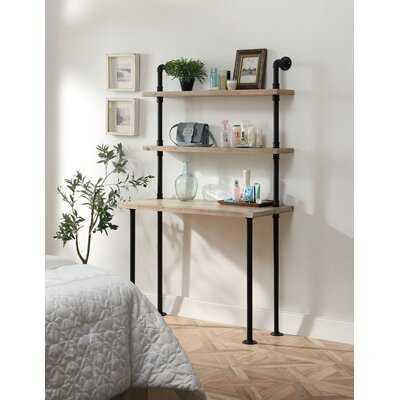 Parikh Ladder Desk with Hutch - Wayfair
