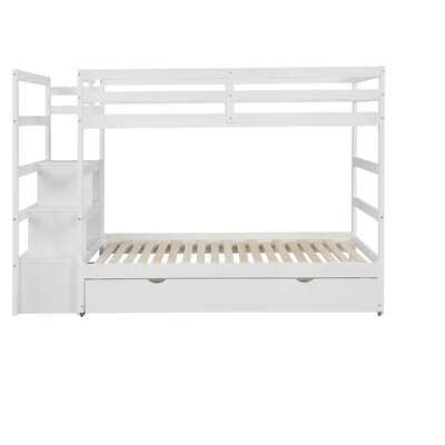 Rehobeth Twin Over Twin Bunk Bed with Trundle - Wayfair