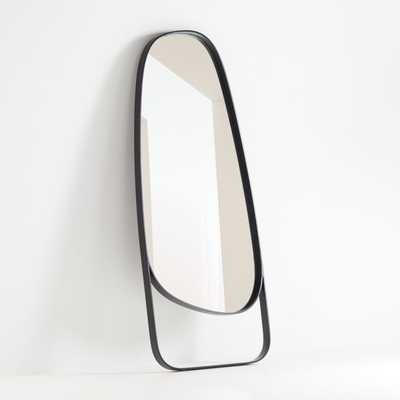 Peyton Asymmetrical Floor Mirror - Crate and Barrel