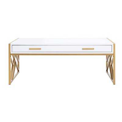 Feliciana Coffee Table with Storage - Wayfair