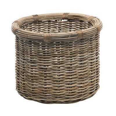 Coastal Rattan Storage Basket - Wayfair
