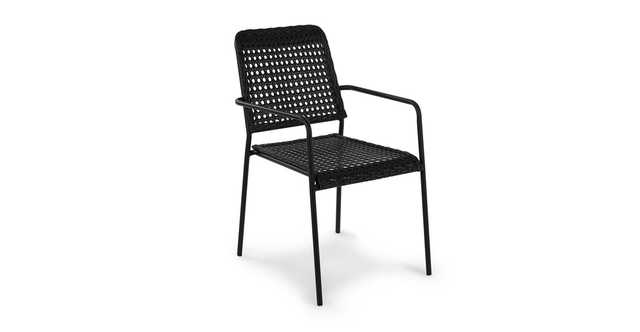 Tern Black Dining Chair (pair) - Article