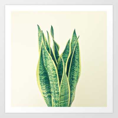 Snake Plant Art Print by Cassia Beck - SMALL - Society6
