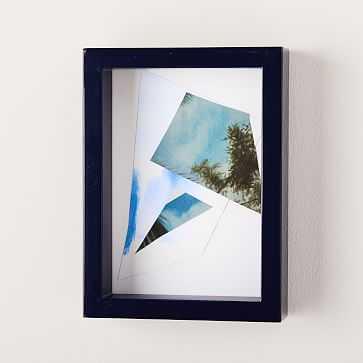 "Modern Frames Lacquer, 5""x7"", Midnight - West Elm"