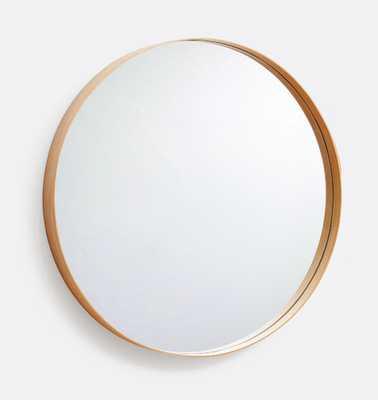 Bentwood Round Wood Mirror - Rejuvenation