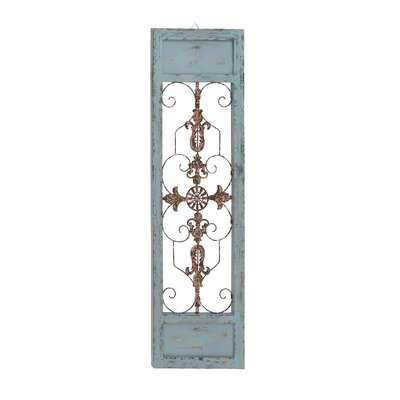 Ornamental Wood and Metal Scroll Wall Décor - Birch Lane