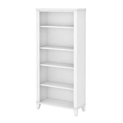 Kirchoff 5 Shelf Standard Bookcase - Wayfair