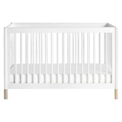 Gelato 4-in-1 Convertible Crib Color: White - Perigold