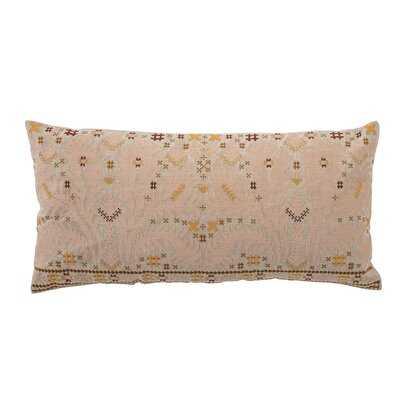 Arlillian Rectangular Cotton Pillow Cover and Insert - AllModern