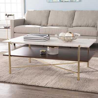 Ardmillan Rectangular Cocktail Table W/ Storage - Wayfair