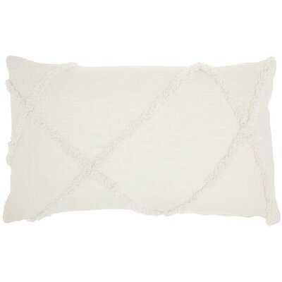 Remi Cotton Abstract Lumbar Pillow - AllModern