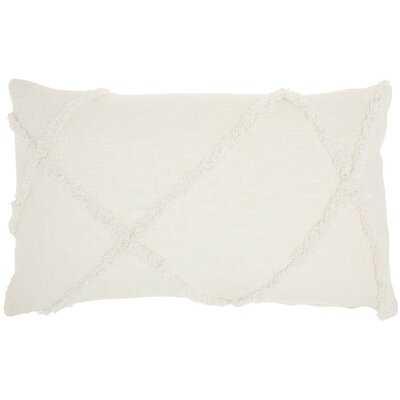 Remi Cotton Abstract Lumbar Pillow - AllModern