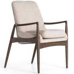 Braden Arm Chair, Light Camel - High Fashion Home