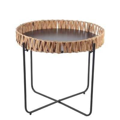 Crete Metal Side Table - Wayfair