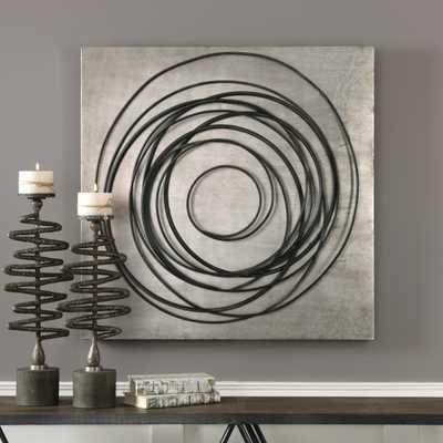 Whirlwind Iron Coils Wall Art - Hudsonhill Foundry