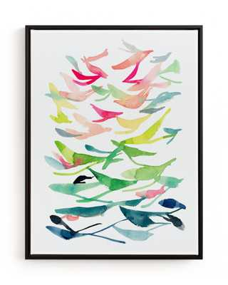 Spring Is In The Air Children's Art Print - Minted