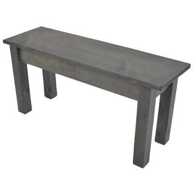 Ariana Wood Bench - Wayfair